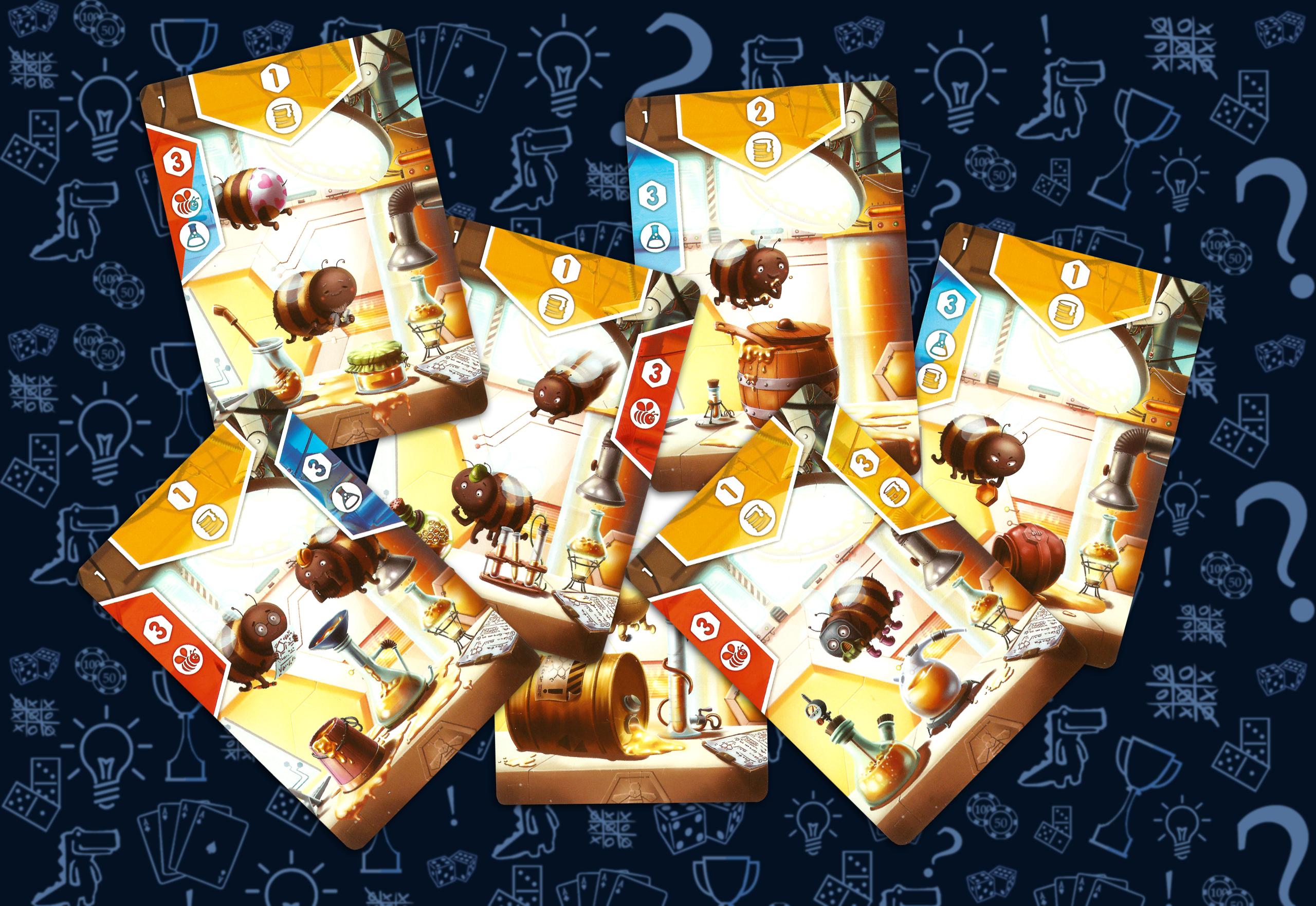 Карты меда (настольная игра Правильный мед)