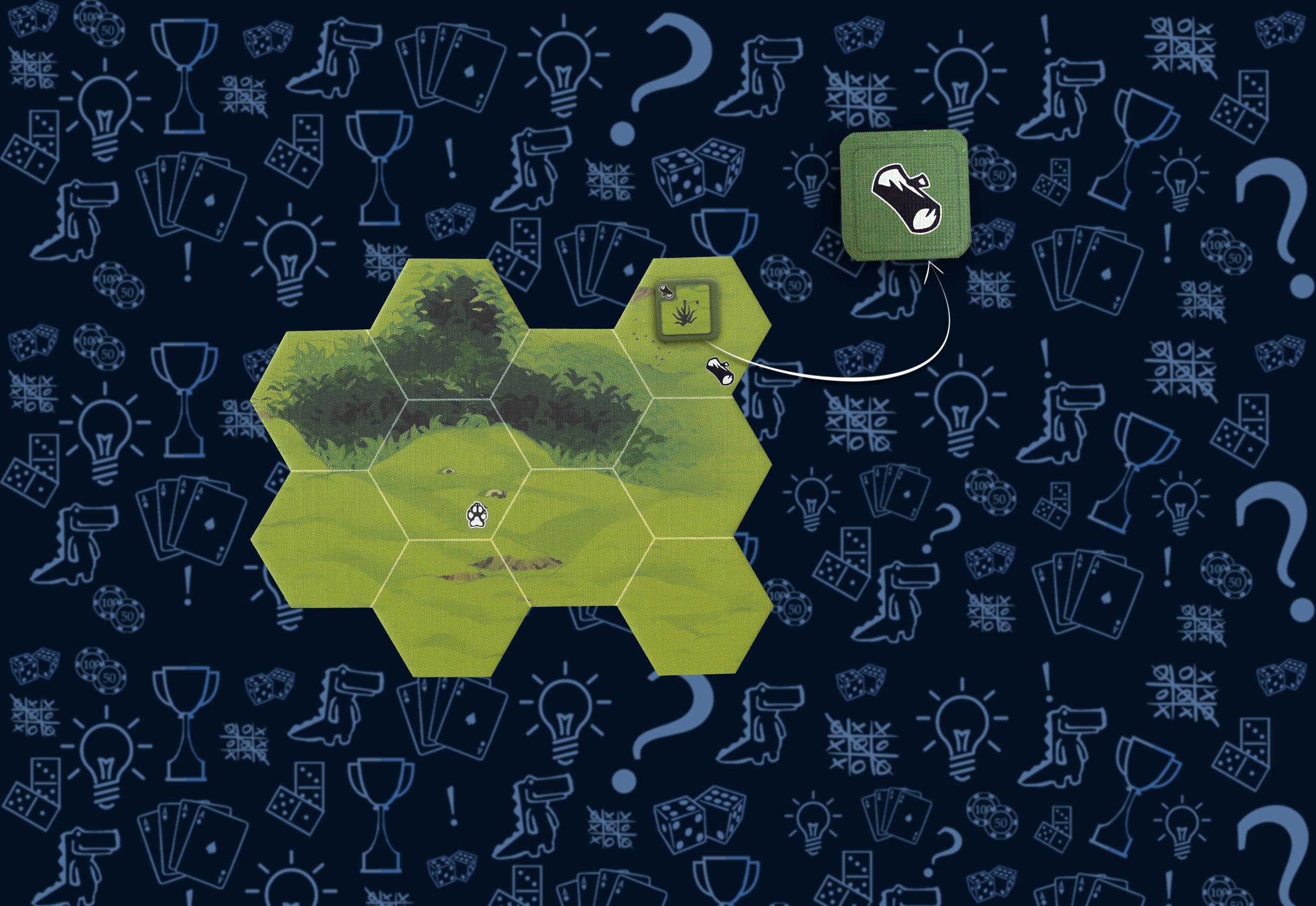 Жетон находки настольная игра «Остаться в живых: неизведанные земли»