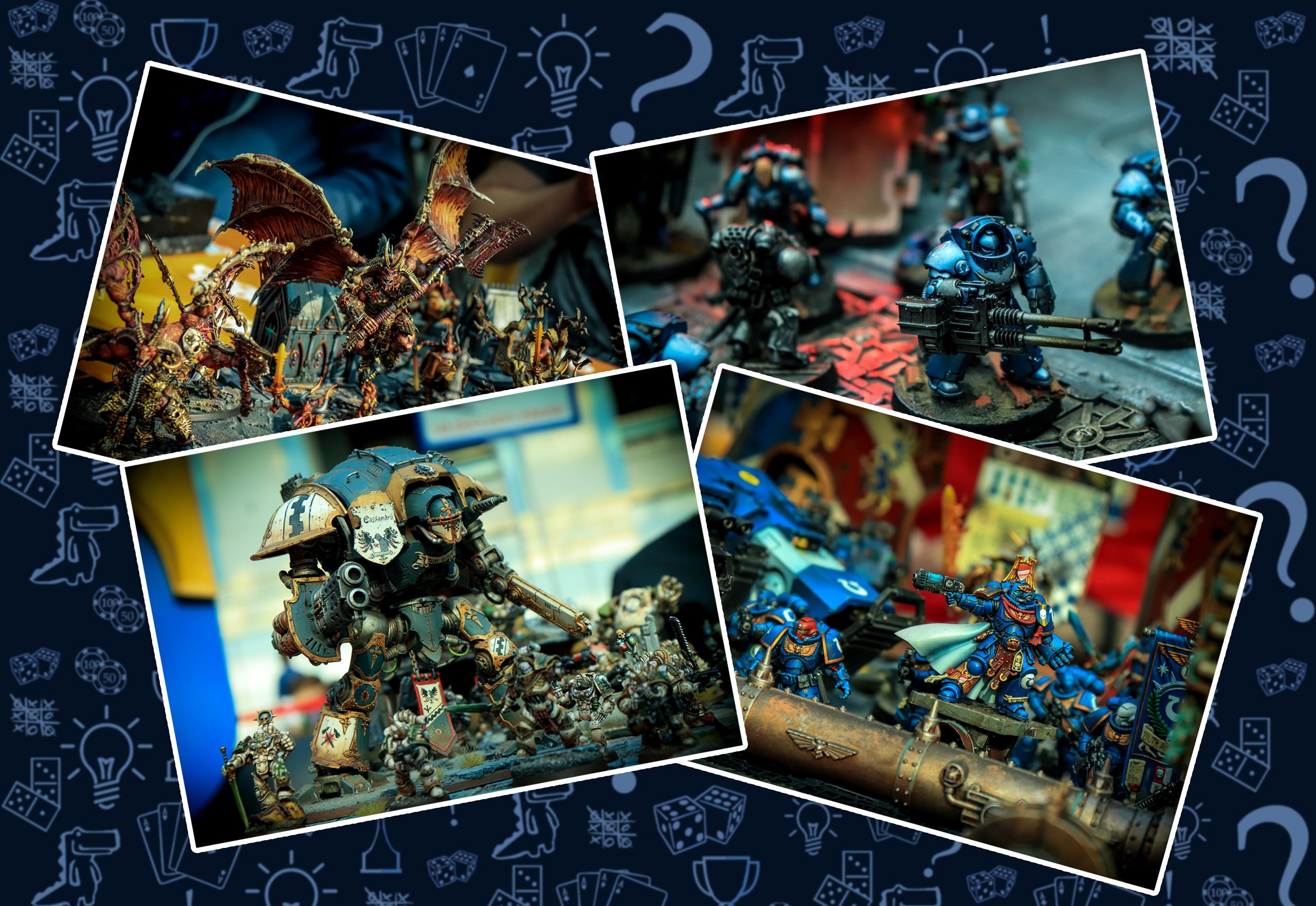 Император защищает Warhammer 40 000