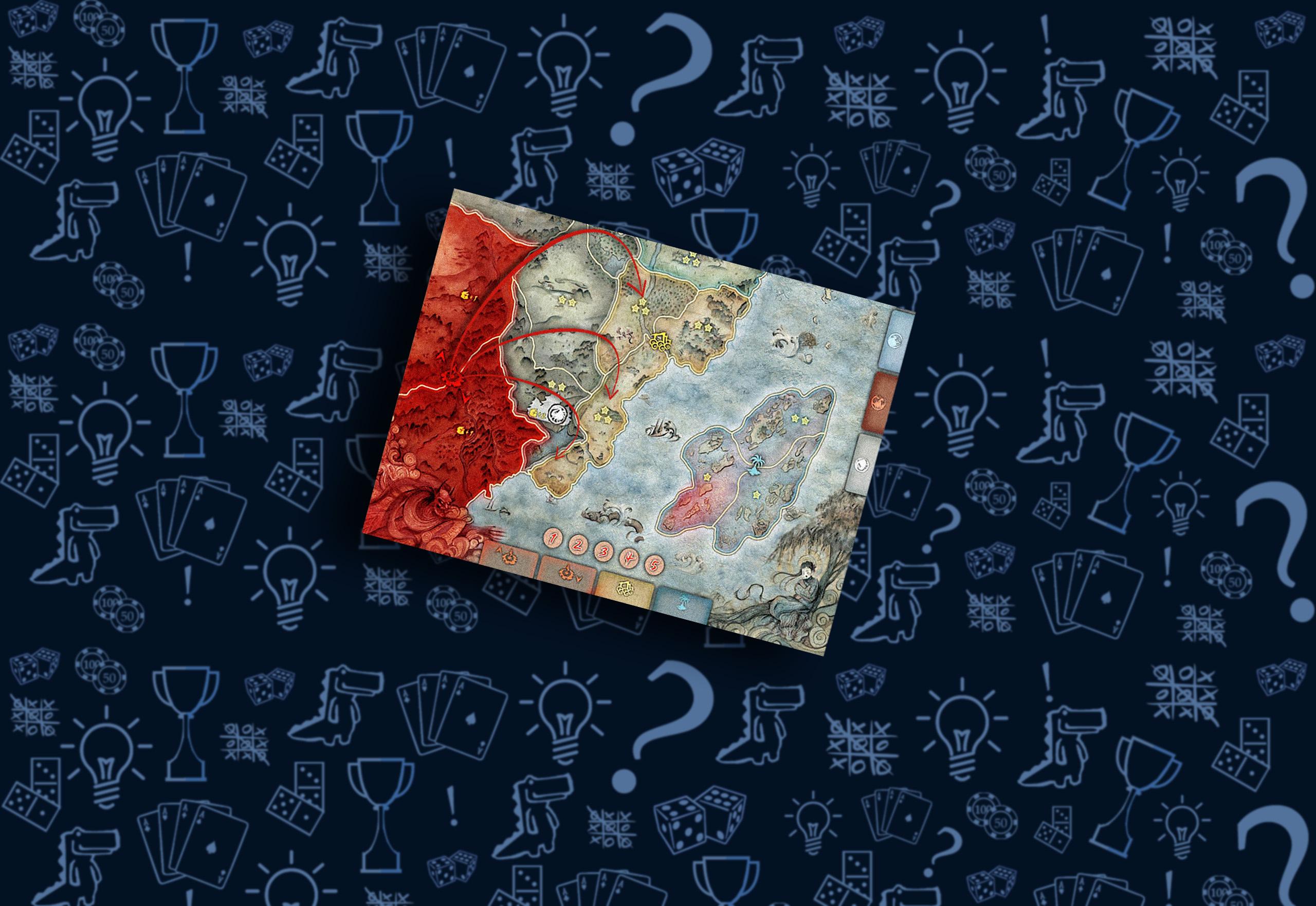 Теневые земли настольная игра «Битва за Рокуган»