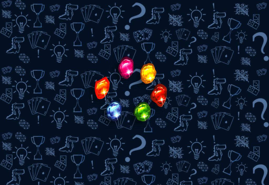 Жетон Камней бесконечности в настольной игре «Мстители: Война Бесконечности»
