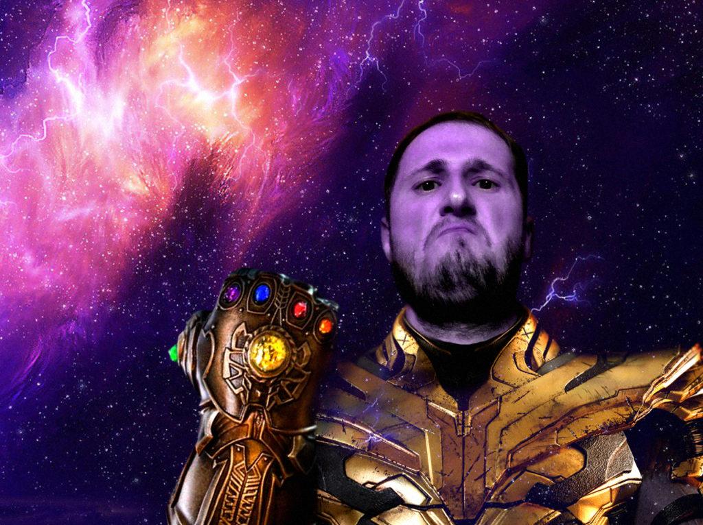 Димасик ты не Танос, ты болен!