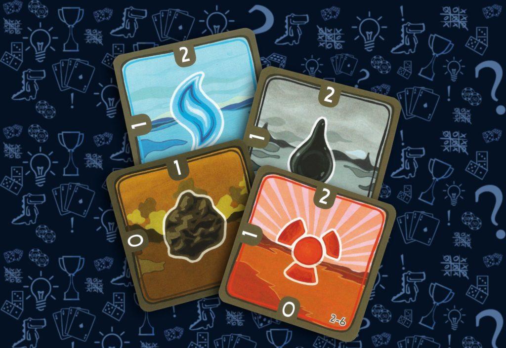 Карточки топлива настольная игра «Энергосеть» (rolethedice.ru Бросьте Кости)