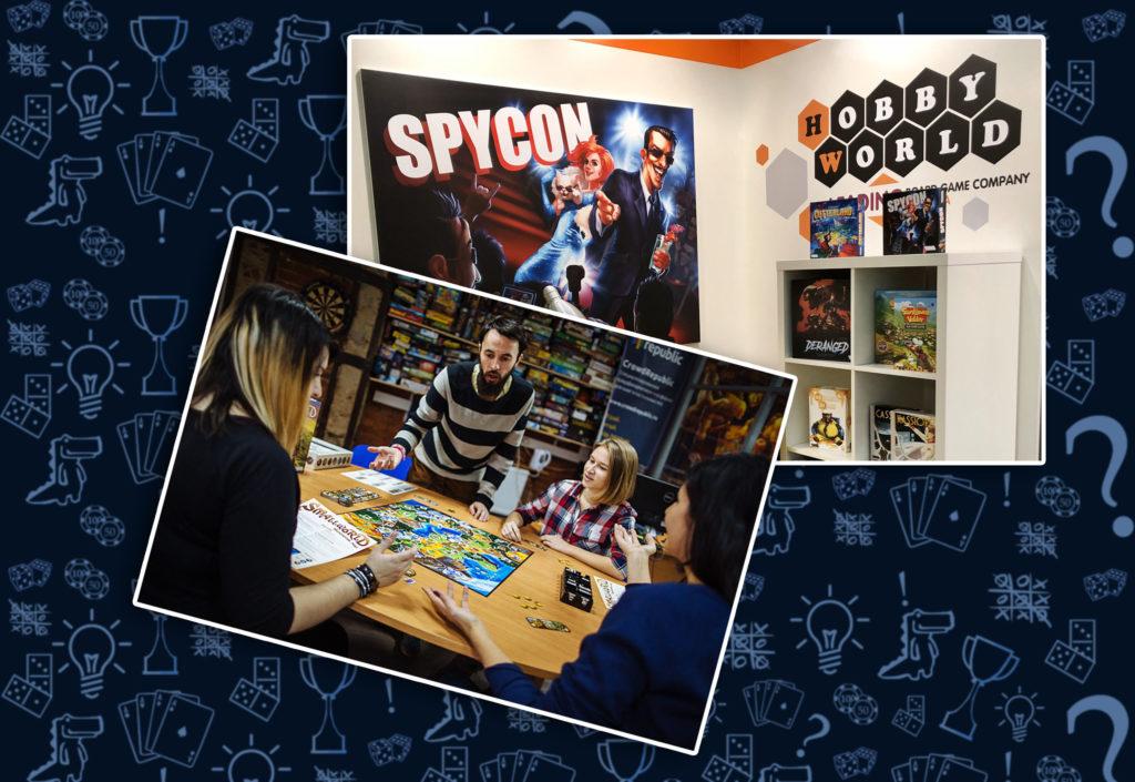 Настольная игра Cutterland и Spycon HobbyWorld (rolethedice.ru Бросьте Кости)