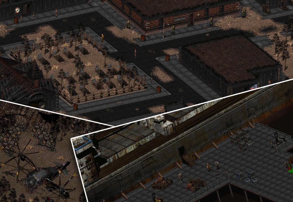 Виды и гнетущая атмосфера Fallout 2 (rolethedice.ru Бросьте Кости)