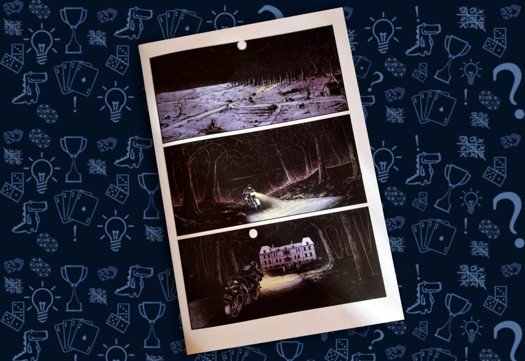 комикс-игра «Похищение» выбор пути (rolethedice.ru Бросьте Кости)