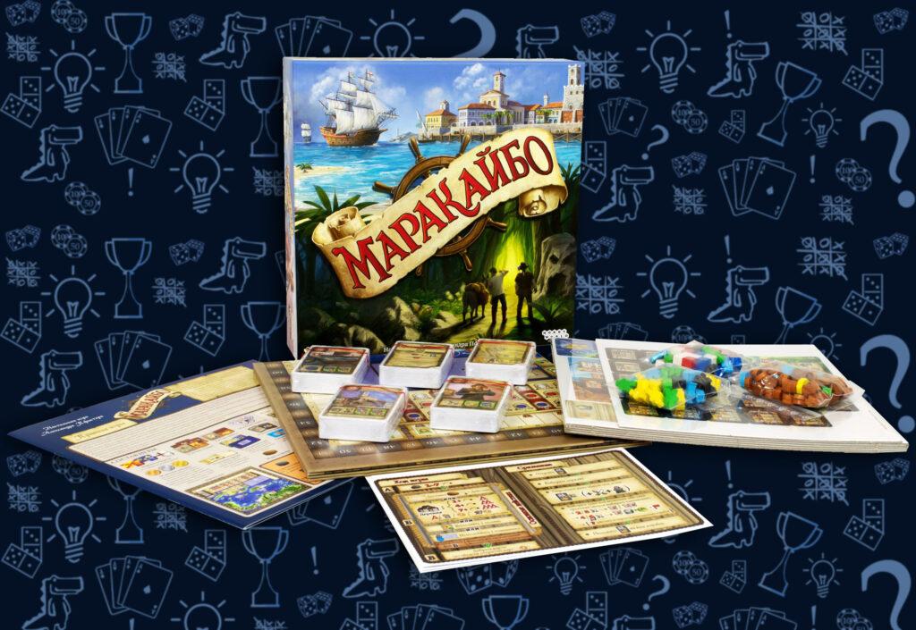 Настольная игра Маракайбо (rolethedice.ru Бросьте Кости)