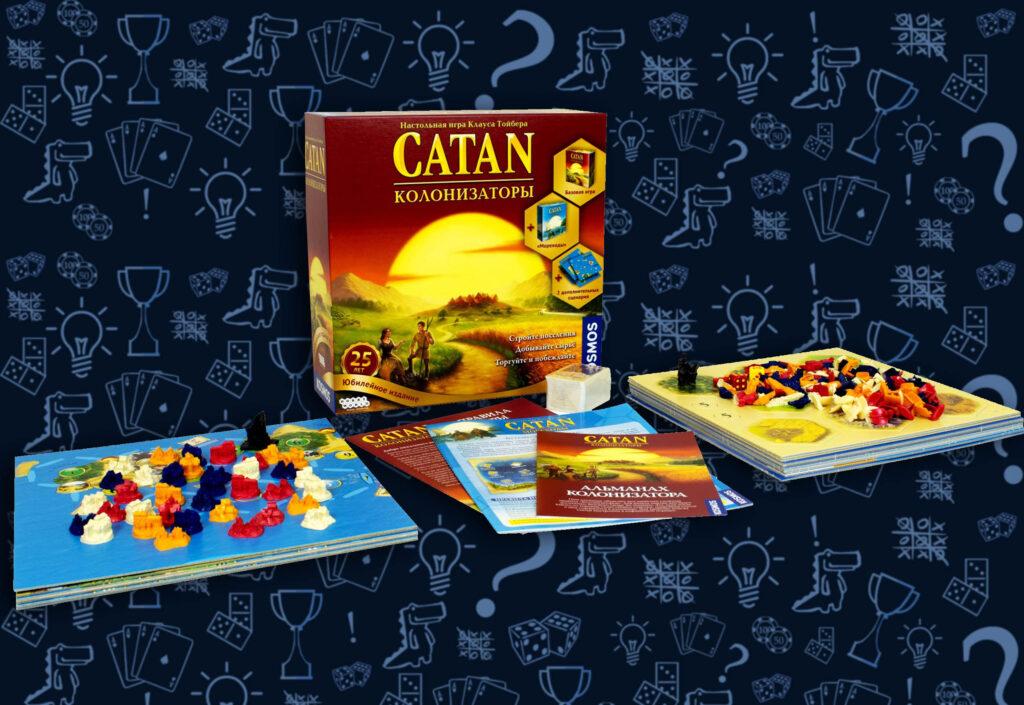 Настольная игра Catan. Юбилейное издание (rolethedice.ru Бросьте Кости)