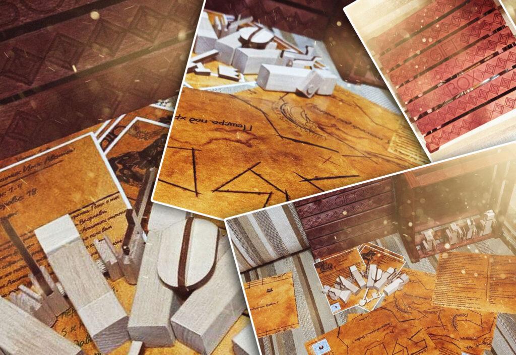Общий вид Настольная ролевая игра Тавернские Байки (rolethedice.ru Бросьте Кости)