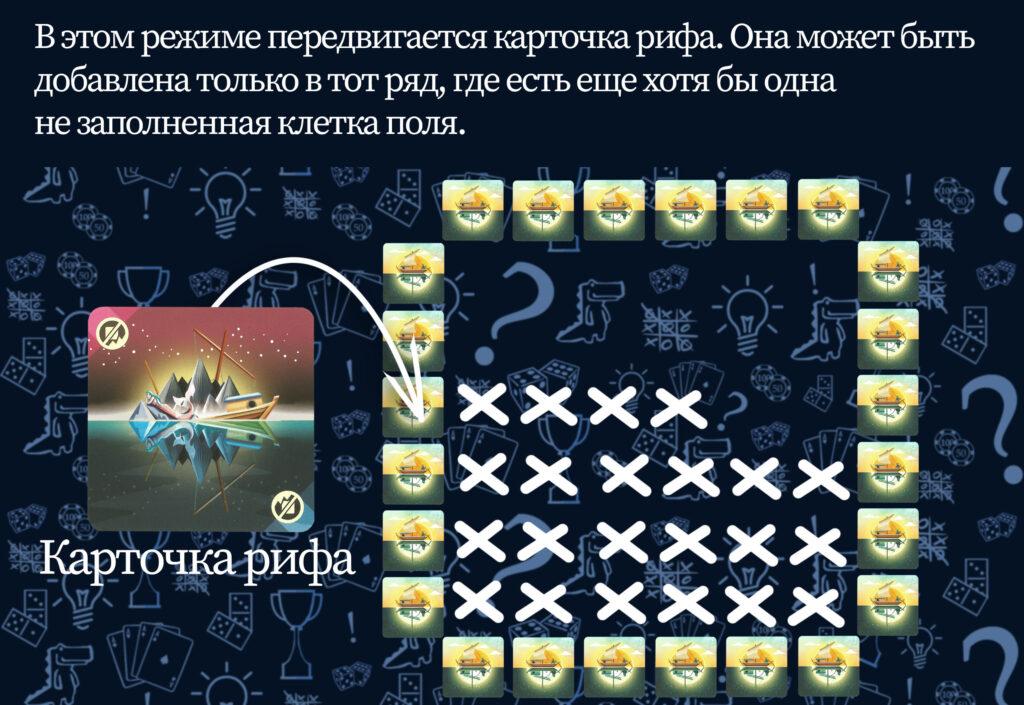 Карточка рифа настольная игра Штиль (rolethedice.ru Бросьте Кости)