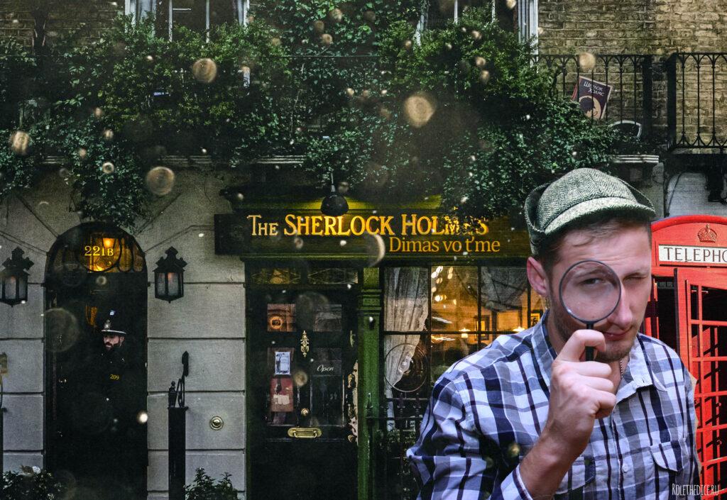 Комикс-игра «Шерлок Холмс: Четыре расследования» (rolethedice.ru Бросьте Кости) А вы нашли все пасхалки на фото?